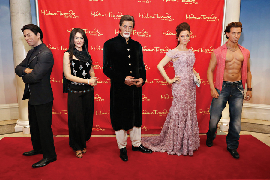 The much awaited Madame Tussauds is now sheltering in Delhi.